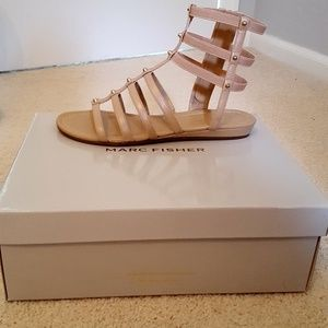 Marc Fisher gladiator sandals NWT